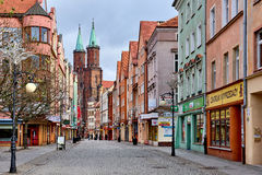 Promenade of Legnica Royalty Free Stock Photography