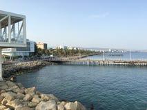 Promenade in Limassol Stockfoto