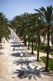Promenade in Majorca Royalty Free Stock Photo