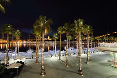 Promenade of Malaga, Spain Stock Photography