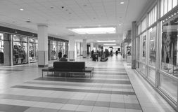 Promenade Mall Royalty Free Stock Images