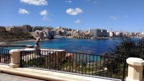 Promenade Malta Lizenzfreie Stockfotografie
