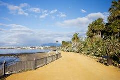 Promenade in Marbella Royalty Free Stock Images