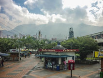 Promenade in Medellin Colombia Stock Afbeeldingen