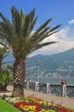 Promenade from Menaggio,Lake Como Stock Image