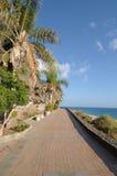 Promenade in Morro Jable, Fuerteventura Royalty Free Stock Photos