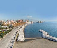 Promenade of Naples Royalty Free Stock Image