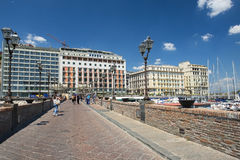 Promenade of Naples, Italy Stock Photography