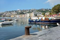 Promenade of Naples Stock Photo