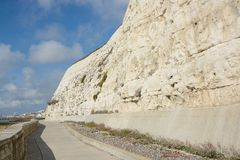 Promenade near Brighton, Sussex, England Stock Photography