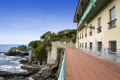 Promenade in Nervi Royalty Free Stock Image
