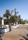 'promenade' Palma-alineada Imagenes de archivo