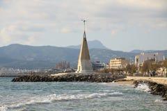 Promenade of Palma de Majorca Stock Photos
