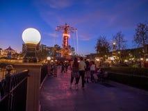 Promenade am Paradies-Pier bei Disney Lizenzfreie Stockfotografie