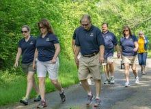 Promenade pendant la vie, Roanoke, la Virginie, Etats-Unis Image libre de droits
