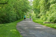 Promenade pendant la vie, Roanoke, la Virginie, Etats-Unis Image stock