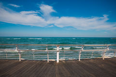 Promenade of Pesaro, Marche Stock Photos