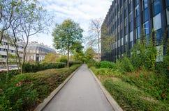 Promenade Plantée d'arts de DES de Viaduc Photographie stock libre de droits