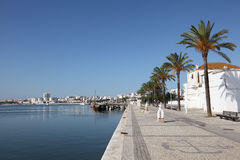 Promenade in Portimao, Portugal Stock Photos
