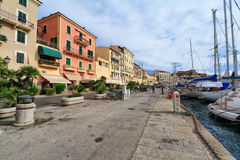 Promenade in  Portoferraio Stock Images