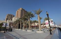 Promenade in Puerto Arabia, Doha Stock Photos