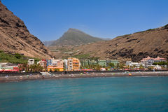 Promenade of Puerto Tazacorte, La Palma Royalty Free Stock Image