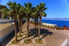 Promenade in Reggio Calabrië Royalty-vrije Stock Foto