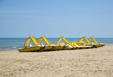 Promenade in Rimini, Italy. Stock Photography