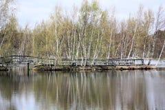 Promenade Sackville-Wasservogel-Park Stockfotos