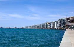 Promenade, Saloniki, Makedonien, Griechenland Stockbilder