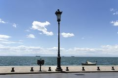 Promenade ? Salonique photos stock