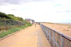 Promenade, Sandilands, Lincolnshire. Stock Photo