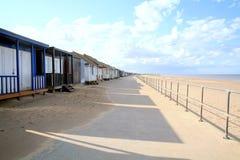 Promenade, Sandilands, Sutton on Sea, UK. Royalty Free Stock Photography