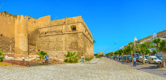 The promenade of Sfax Royalty Free Stock Photography