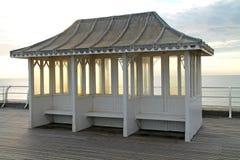 Promenade Shelter. Royalty Free Stock Photography