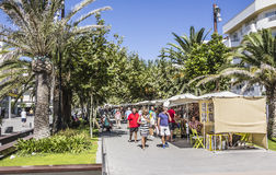 Promenade of Sta Eularia Royalty Free Stock Photo
