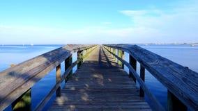 Promenade sur l'eau photographie stock libre de droits