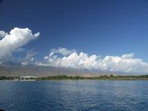 Promenade sur le lac Photo libre de droits