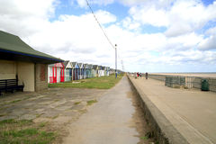 Promenade, Sutton-On -Sea. Stock Photography