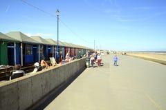 Promenade, Sutton on Sea, Lincolnshire. Royalty Free Stock Image