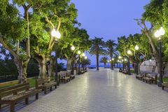 Promenade in Tarragona Royalty Free Stock Image