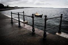 Promenade in Thessaloniki Stock Images