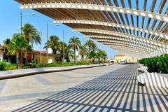 Promenade of Torrevieja. Spain Royalty Free Stock Image