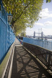 Promenade and Tower Bridge Stock Images