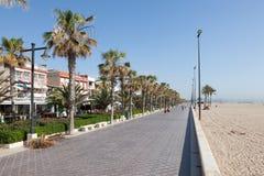 Promenade in Valencia, Spain Stock Images