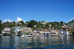 Promenade van Ascona, Zwitserland Royalty-vrije Stock Foto's