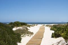 Promenade vers la mer Image libre de droits