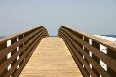 Promenade vers la mer photos libres de droits