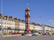 Promenade at Weymoth, Dorset UK Stock Image
