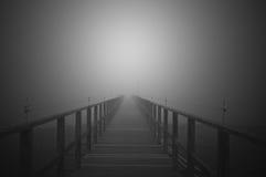 Promenade zum Himmel Stockbild